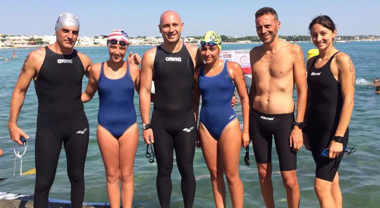 Otrè Nuoto: podio a Porto Cesareo