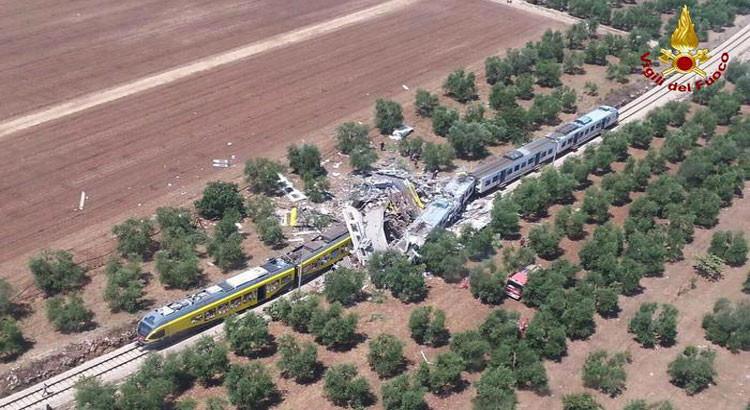 Tragedia ferroviaria, appello alla donazione di sangue
