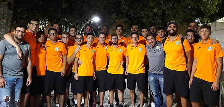 Gioiella Cap Noci: la squadra di pallamano si presenta alla cittadinanza