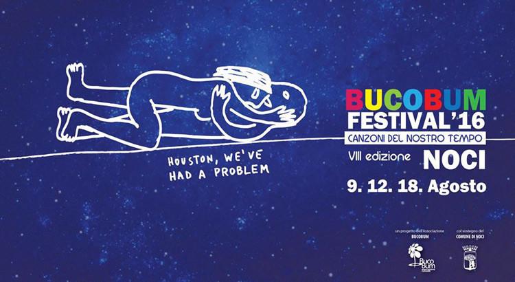 Bucobum Festival 2016: ospiti Motta, Truppi e Mai Stato Altrove