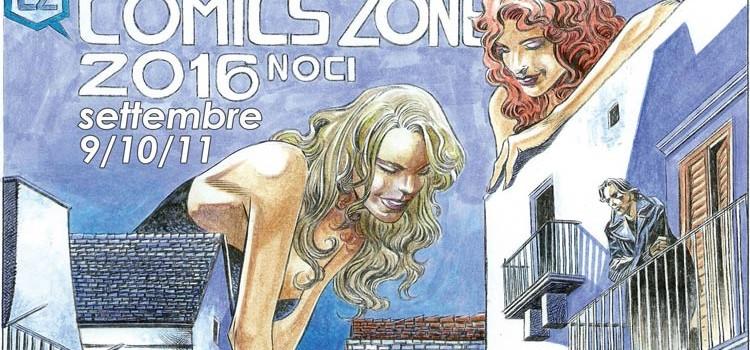 Noci Comics Zone 2016, il programma