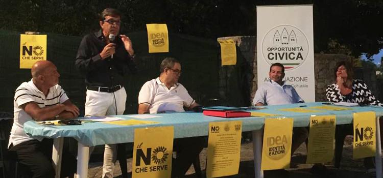 Referendum costituzionale, si inaugurano i comitati per il NO
