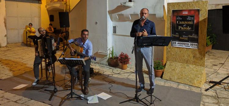 """""""Canzoni e Parole"""": Battisti e Leopardi si incontrano a Largo Torre"""