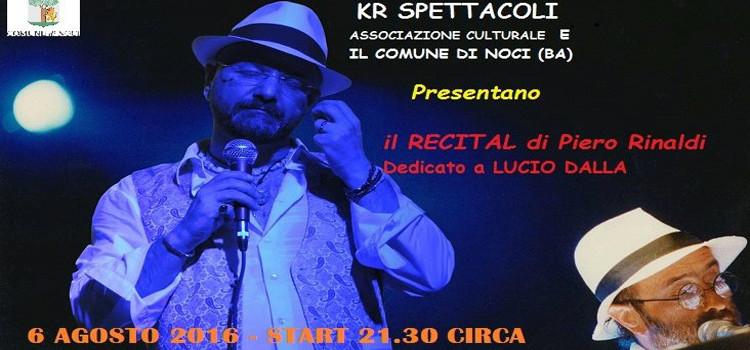 """""""Ciao"""", dedica a Lucio Dalla"""