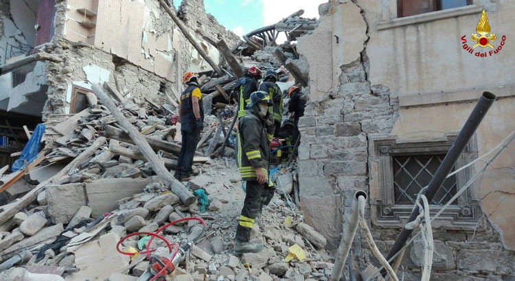 Terremoto Centro Italia: informazioni sul coordinamento degli aiuti