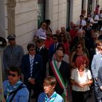 Amministrazione Comunale durante la processione di gala