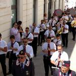 Banda Cittadina suona nella processione di gala