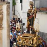 Processione di gala nel centro storico
