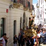 Processione di gala nelle vie cittadine