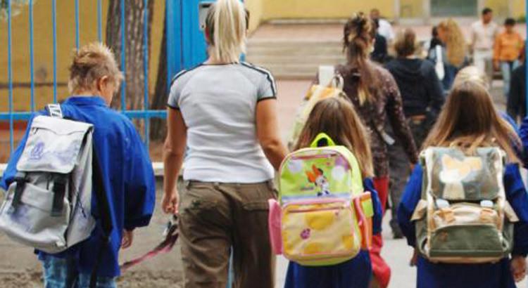 Ansia da separazione: il primo giorno di scuola