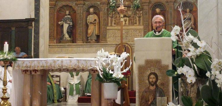 L'arcivescovo Filippo Santoro a Noci per l'Ottava di San Rocco