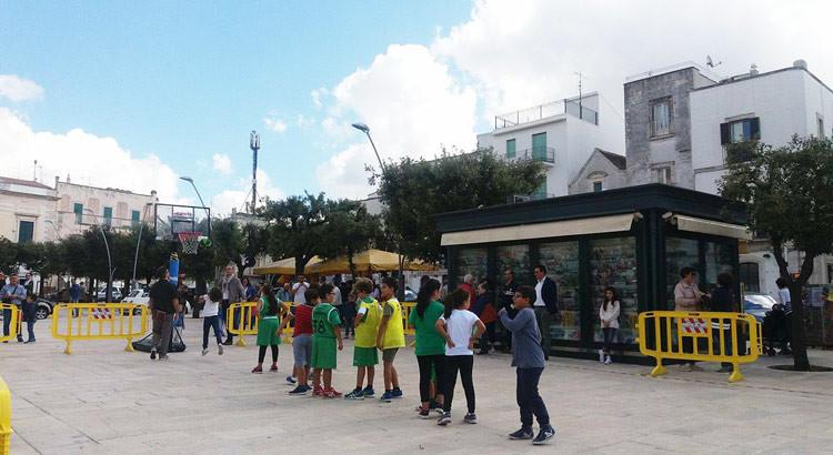 Dinamo Basket Noci: grande festa in piazza per l'Open Day