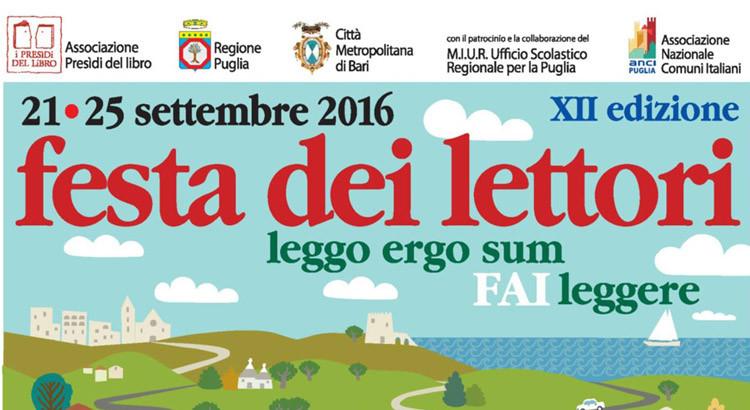 """La """"Festa dei Lettori"""" a Noci"""