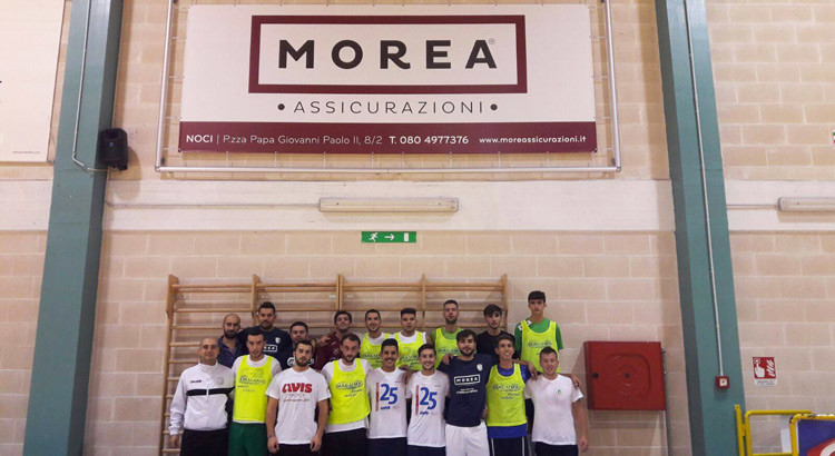 Futsal Noci: un roster eterogeneo agli ordini di mister Lippolis