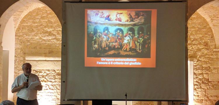 Don Antonio Scattolini spiega il legame tra arte e Vangelo