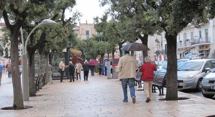 Maltempo: la pioggia causa disagi