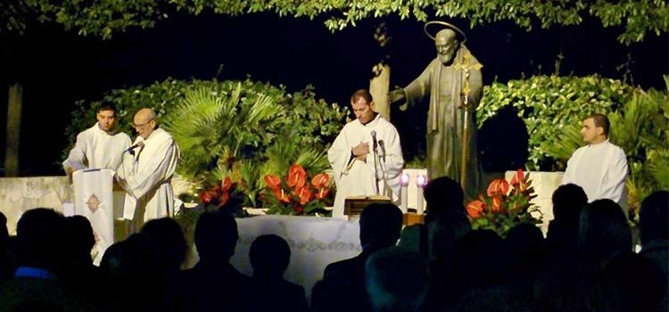 Noci ricorda con una messa San Pio da Pietralcina