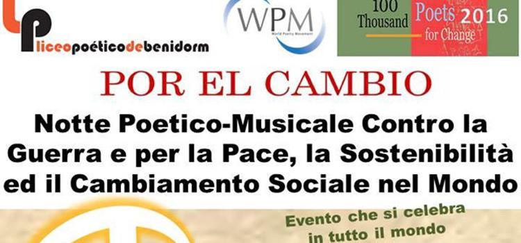 """Vittorino Curci a Santeramo con i """"poeti per la pace"""""""