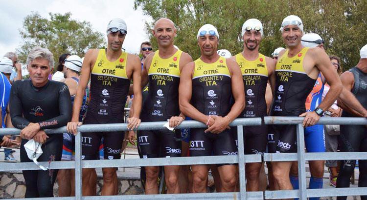 Triathlon Olimpico di Sapri, non basta la rimonta di Insalata