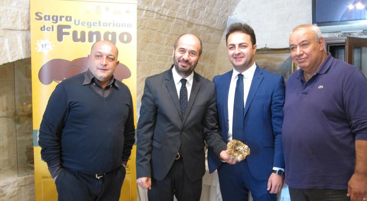 Sagra del Fungo, presentato il programma della 17^ edizione