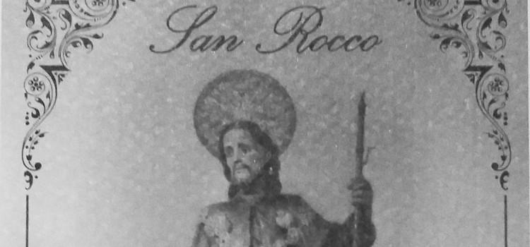 """San Rocco, dal 1875 il culto """"du Sant Frances"""""""