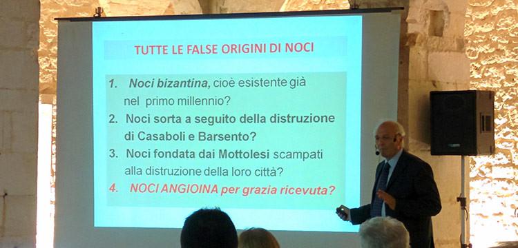 Settembre in Santa Chiara: Pasquale Gentile smaschera i falsi miti sulla nascita di Noci