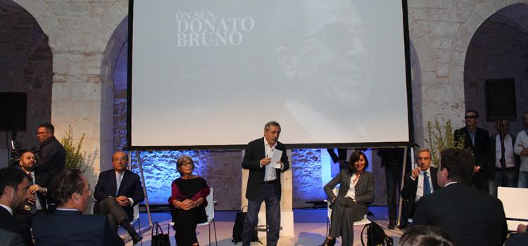 Intitolata la sede di Forza Italia a Donato Bruno