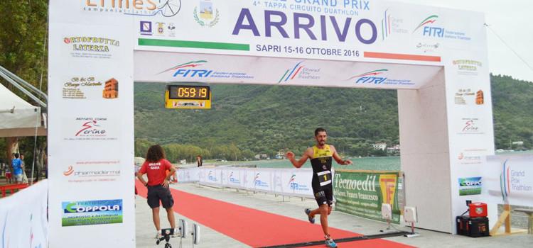 Otrè TT, Insalata vince a Sapri