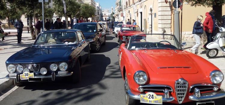 """""""Rally dei Trulli"""", un tocco vintage in città"""