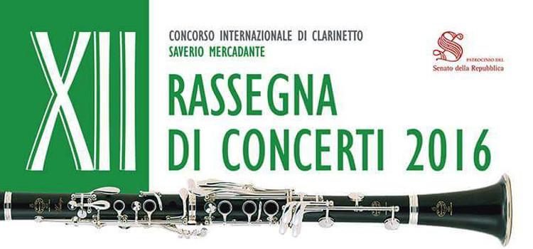 XII Concorso Internazionale di Clarinetto Saverio Mercadante