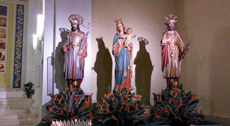 Noci omaggia i Santi Medici e Maria Ss Del Rosario