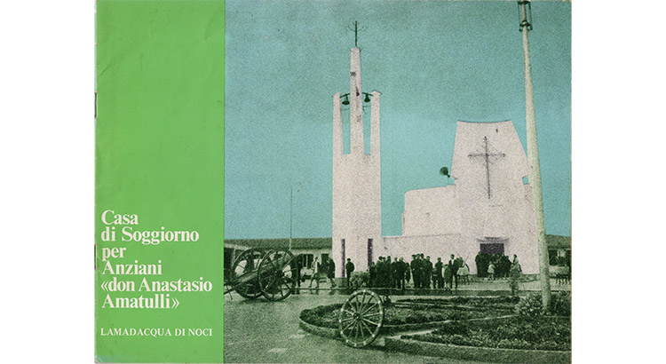 La chiesa di Lamadacqua nel supplemento del Noci Gazzettino del novembre 1970