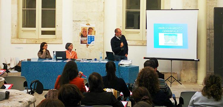 A Noci un corso di formazione per aiutare chi soffre di Alzheimer