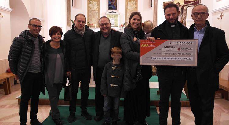 """""""Bacco solidale"""": raccolti 11.550 euro per Amatrice"""