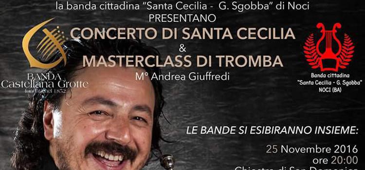 Concerto Santa Cecilia e Masterclass di tromba