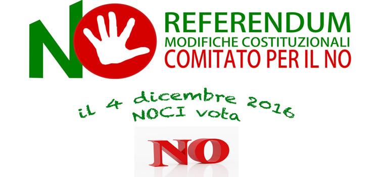 Referendum 4 dicembre, a Noci si costituisce il Comitato per il NO