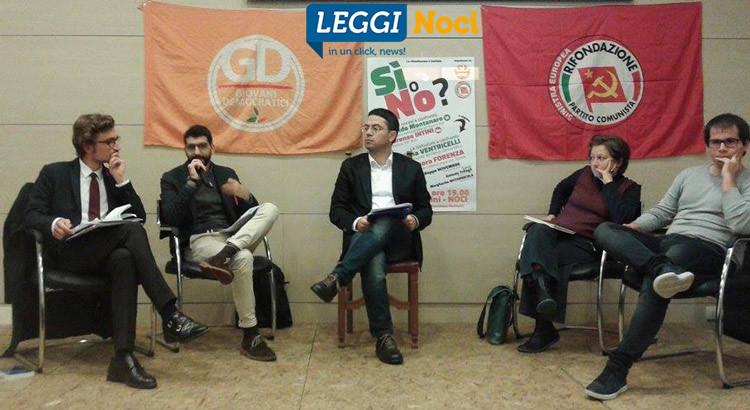 GD-GC, il primo faccia a faccia sul Referendum Costituzionale: SI o NO?