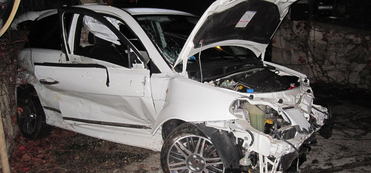 Incidente su via Gioia, ferito neopatentato