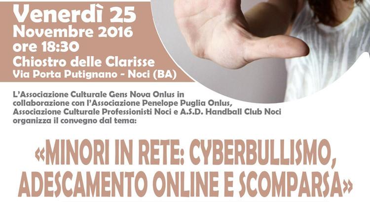 Minori in rete: cyberbullismo, adescamento online e scomparsa