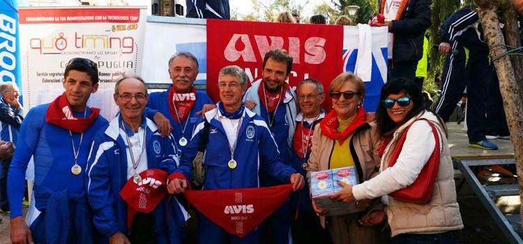 Montedoro Noci con l'Avis per la solidarietà