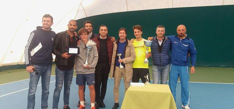 Torneo indoor di tennis, vince Lovascio