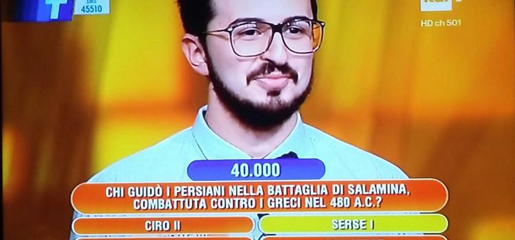 Il nocese Daniele Notarnicola a L'Eredità