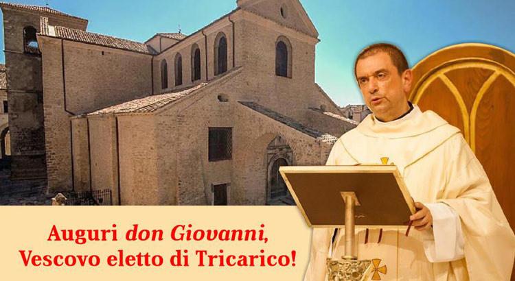 Don Giovanni Intini vescovo di Tricarico