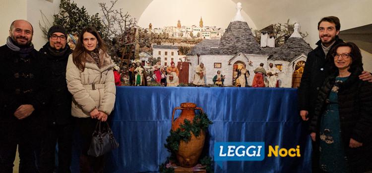 """""""Emozioni di Natale"""", la Natività negli scorci più belli di Noci"""