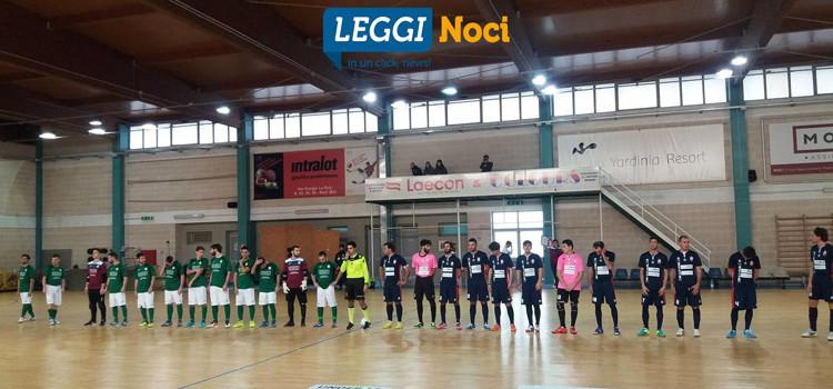 Futsal Noci non ferma la capolista