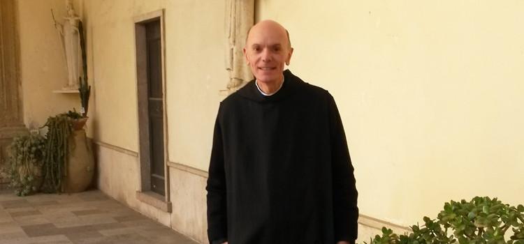 Padre Giustino Pege nuovo Abate della Madonna della Scala