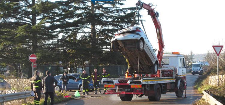 Incidente sulla via per Castellaneta, donna in ospedale