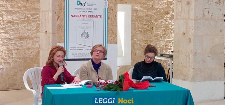 "Giulia Basile presenta ""Narranti Erranti"": 165 storie in 400 caratteri"