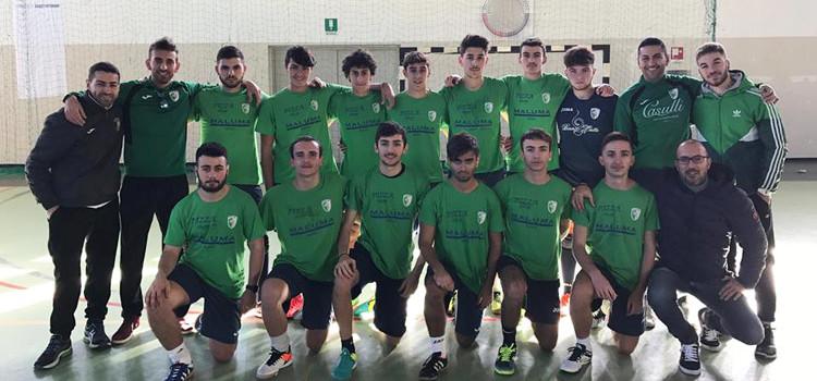 Juniores Noci Calcio A Cinque: oggi l'esordio in campionato