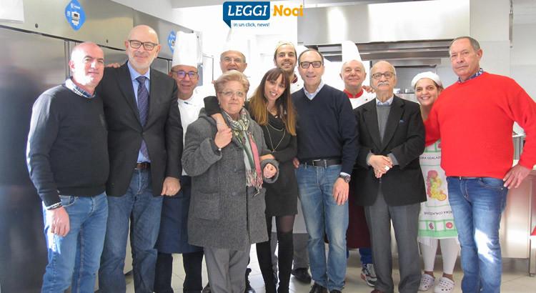 """Ex alunni alberghiero offrono pranzo all'Apsp """"Sgobba"""""""
